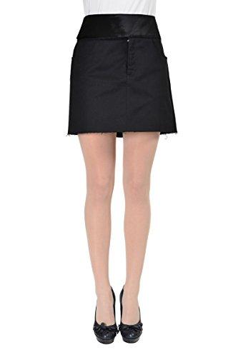 Maison Martin Margiela MM6 Women's Black Mini Skirt US M IT (Martin Margiela Women Skirts)