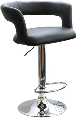 Armen Living Mad Hatter Dining Chair in Grey Velvet and Black Wood Finish