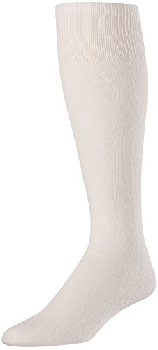 TCK Sports Baseball/Softball Cushion Sanitary (Under Stirrup) White Socks, Small
