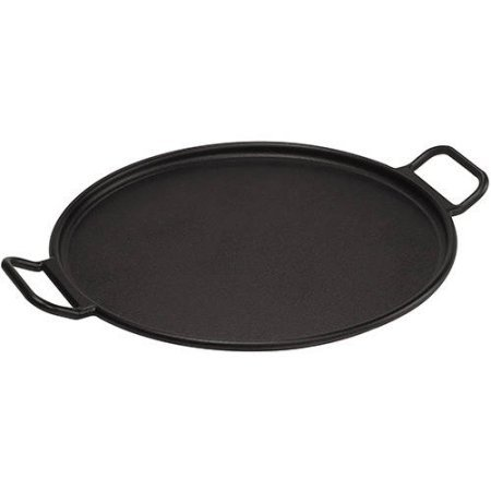 Lodge Pro Logic Cast Iron Pizza Pan With Recipe Card