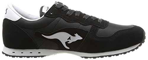 Kangaroos Blaze IV - Zapatillas de Deporte de material sintético hombre negro - Noir (Black/White 500)