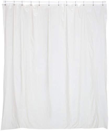 Carnation Home Fashions 72 X 78 Vinyl Shower Curtain Liner Bone Ebay