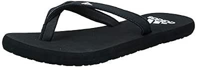 adidas Eezay Flip Flop Women's Flip-Flops, Core Black/Footwear White/core Black, 5 US