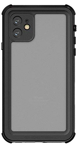Ghostek Nautical iPhone 11 Waterproof Case with Screen Protector Full Body Sealed 2019 iPhone Underwater Phone Cases Shock Proof Heavy Duty Protection Ready for Whatever Life Throws at You - (Black)