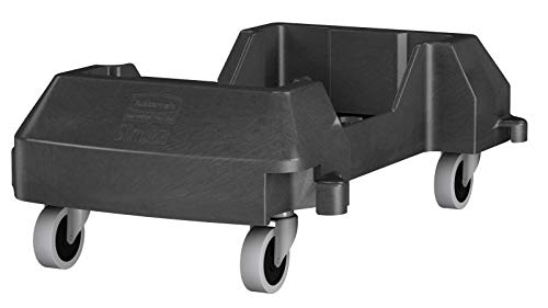- Rubbermaid Trolley for Slim Jim Container - Black