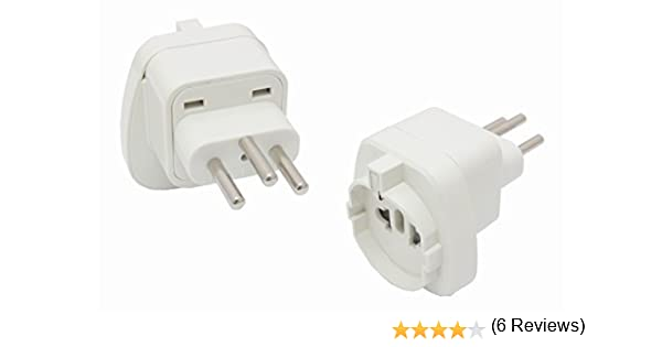 Reisestecker24 - Adaptador de enchufe tipo J: Amazon.es: Iluminación