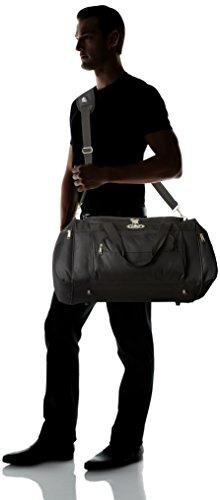 Everest One Deluxe Sports Black Bag Duffel Size Orange Everest Deluxe ZcqZpWnrP