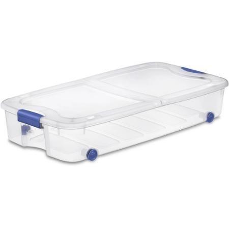 (Sterilite, 66 Qt./62 L Ultra Storage Box, Case of 4)