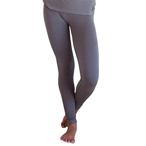 - Faceplant Dreams Dreamwear Bamboo Leggings, Earl Grey (Medium)