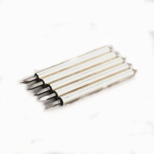 Autek 5 x 30 ° Roland GCC vinilo Cutter Plotter Blades vinylscher bloque tarjeta Plotter cuchillas RO de 30 X5: Amazon.es: Bricolaje y herramientas