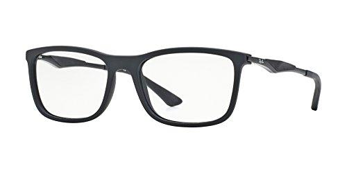 Ray Ban RX7029 Eyeglasses-2077 Matte Black-53mm