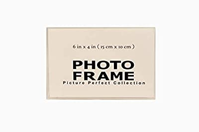 Pack of 6x4 Clear Acrylic Picture Frames, Sign Holders Acrylic Photo Frame Horizontal