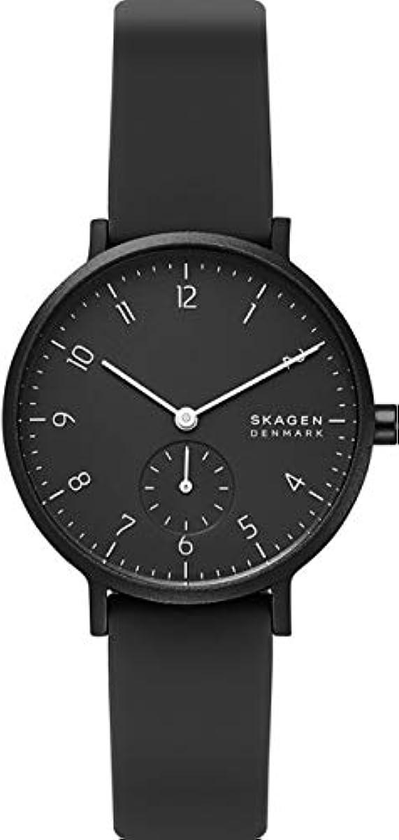 [해외] [스카―겐] 손목시계 AAREN SKW2801 레이디스 정규 수입품 블랙