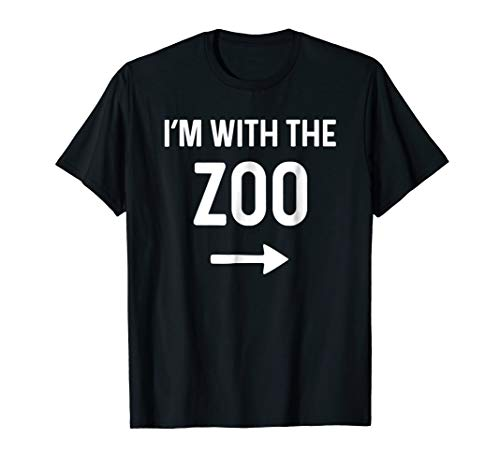 With The Zoo Shirt Funny Halloween Costume Idea