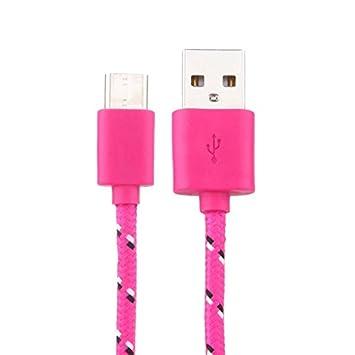 Vimoli Cable #F590 USB C Cargador USB 3A Tipo C Nylon Carga ...