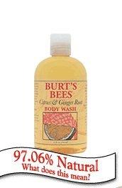 Burts Bees Body Wash  Citrus   Ginger Root  12 Oz