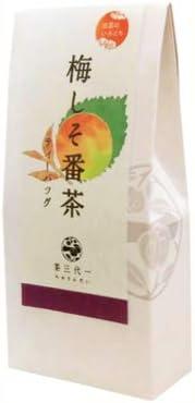 出雲のいろどり 梅しそ番茶 5g×8P×12 ティーバッグ 茶三代一 健康茶 番茶の香ばしい香りと梅と青しその爽やかな風味