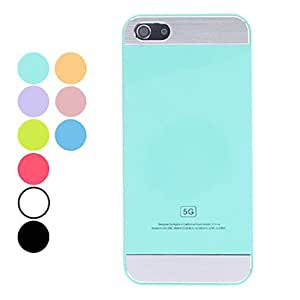 DUR Simple Design Solid Color Hard Case for iPhone 5/5S (Assorted Colors) , Blue