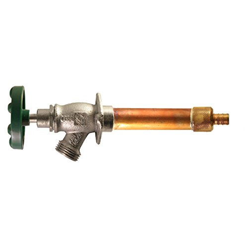 Arrowhead 479-06 6-Inch Freeze-Proof Arrow-Breaker QuickTurn Anti-Siphon Hydrant with 1/2-Inch PEX Inlet Connection