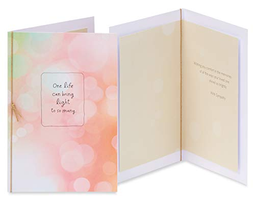 American Greetings Premium Sympathy Greeting Card Collection, 8-Count Photo #7