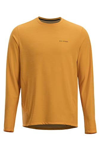 - ExOfficio Men's Hyalite Long Sleeve, Pale Pumpkin, Small