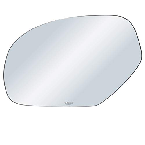 exactafit 8712L Driver Left Side Mirror Glass Replacement fits Cadillac Escalade GMC Sierra Chevrolet Chevy Silveardo 1500 2500 3500 by Rugged TUFF