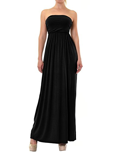 Teejoy Womens Classic Strapless Dress