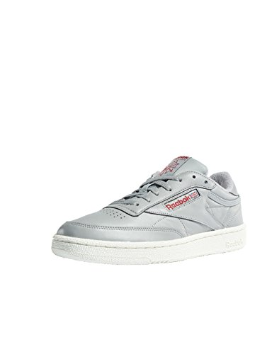 Mu Mgh Reebok C Vintage Red Chaussures 000 Chalk Solid de Power Homme 85 Gymnastique Club Multicolore Grey fvTv4