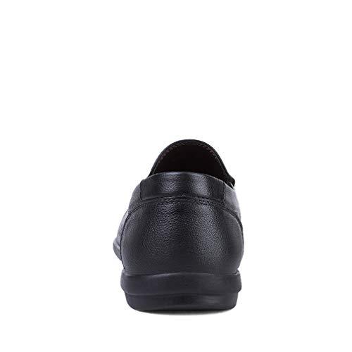 Zapatos Aire conducción Mocasín Hombres Mocasines Cuero Mocasines Fiesta Libre para al de y de Zapatos Zapatos de Noche Planos Segundo Oficina Moda Ocasionales YAN R5E686xzn