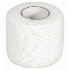 McDavid 5 yd Individual Paper Sleeve Cohesive Wrap, One Size, White -
