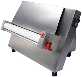CHEF PROSENTIALS 110 Volt Electric dough sheeter Commercial 18 inch single rollers Stainless steel dough press machine pasta maker wholesales 31K7q5lXjWL