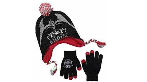 Star Wars Darth Vader kids Beanie and Glove Set -