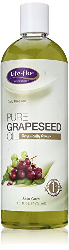 Life-Flo Organic Pure Grapeseed Oil, 16 Ounce