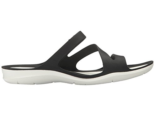 Crocs Sandalo Swiftwater Donna Bianco Nero