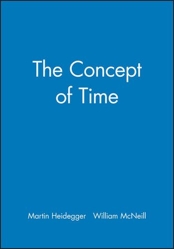 The Concept of Time by Wiley-Blackwell
