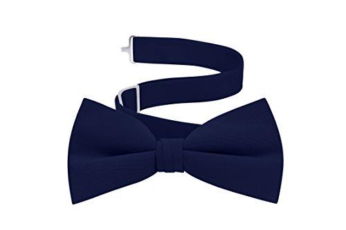Men's Formal Tuxedo Bow Tie - (Navy Blue Mens Bow Tie)