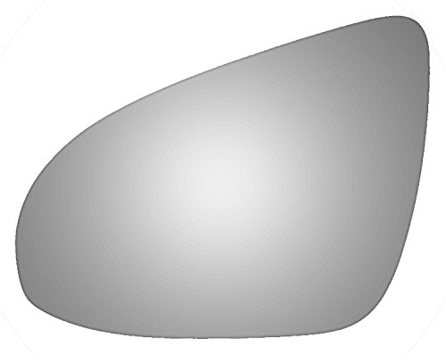 Burco 4472 Flat Driver Side Replacement Mirror Glass for Toyota Avalon, Camry (2012, 2013, 2014, 2015, (Toyota Auto Glass)