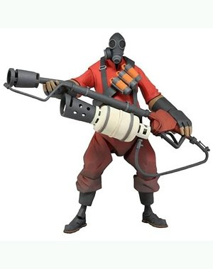 "NECA Series 1 Valve Team Fortress ""Pyro"" Deluxe 7"" Action Figure"
