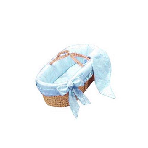 bkb Prima Donna Moses Basket, Blue