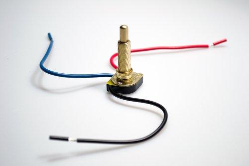 Zing Ear Canopy Switch (Ze-117m) Push Button 1 1/8