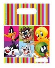 Looney Tunes Party Bags, Pack of 6