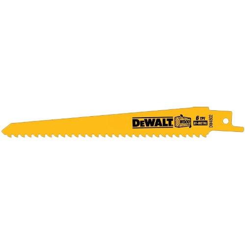 DEWALT DW4802B25 6-Inch Reciprocating Saw Bla