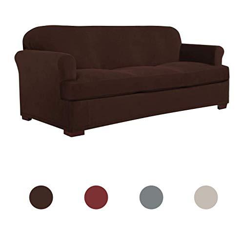 Perfect Fit Serta | Slip-Resistant Form Fitting T-Sofa Slipc
