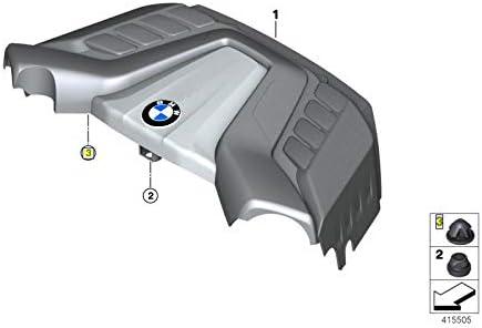 BMW S63 B44 Engine Cover Trim Rubber Mount Grommet Bush 13717593466