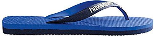 Havainas Havaianas Unisex Infradito Logo Sandali Da Spiaggia Brasiliani - Flip Flop Havaianas Azul / Estrela