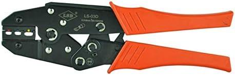 ケーブルカッター 0.5〜6mm² 手動圧着ペンチ 絶縁ケーブルリンク コネクタ用 圧着工具 手動ケーブルカッター