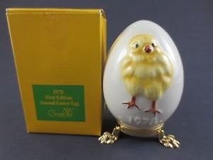 Easter Goebel Egg - 1978 First Edition Annual Easter Egg by Goebel