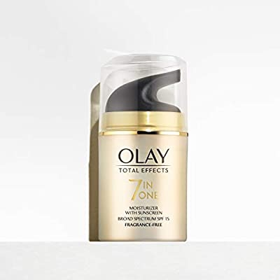 Olay Total Effects 7en1 Hidratante Anti-Edad De Día SPF 15 50 ml, Combate Los 7 Signos De La Edad: Amazon.es: Belleza