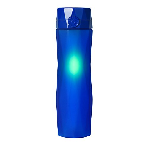 Hidrate Spark 2.0A Smart Water Bottle - New & Improved - Tracks Water Intake & Glows to Remind You to Stay Hydrated (Royal Blue) by Hidrate Spark