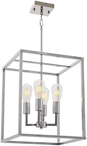 VINLUZ 4 Light Industrial Kitchen Pendant Light